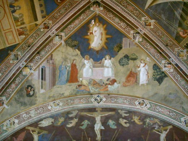 Fresco by Andrea da Firenze (1366)
